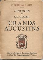HISTOIRE DU QUARTIER DES GRANDS AUGUSTINS ET DU RESTAURANT LAPEROUSE CELEBRE RESTAURANT - Storia