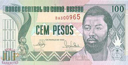 GUINEA BISSAU 100 PESOS 1990 PICK 11 UNC - Guinea-Bissau