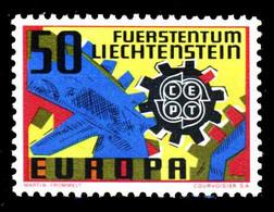LIECHTENSTEIN 1967 Nr 474 Postfrisch SA52AC6 - Unused Stamps