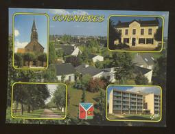 Coignières (78) : L'église, La Mairie, L'allée Des Pommiers, La Maison De Retraite Des Moissonneurs - Other Municipalities