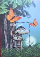 St. KITTS   S/S  MNH - Mushrooms