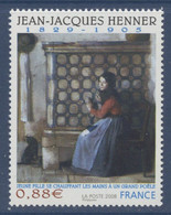 N° 4286 Jean-Jacques Henner Valeur Faciale 0,88 € - Ungebraucht