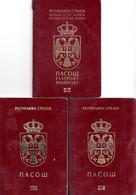 PASSPORT , BIOMETRICAL , SERBIA - Documentos Históricos