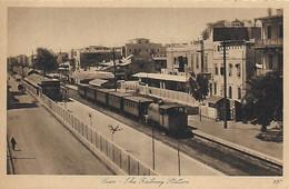 Egypte )   SUEZ  -  La Gare Der Bahnhof - Suez