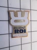 712b Pin's Pins / Beau Et Rare / THEME : MARQUES / CLIENT-ROI LONS-LE-SAUNIER - Markennamen