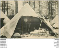 78 MAISONS LAFFITTE. Le Camp Agencement Intérieur D'une Tente 1928 Militaires - Maisons-Laffitte