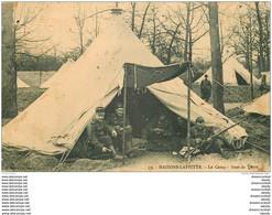 78 MAISONS LAFFITTE. Le Camp Sous La Tente 1910 Militaires - Maisons-Laffitte