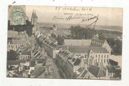 Cp , 59 , BERGUES ,du Haut Du Beffroi , Voyagée 1906 - Bergues