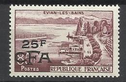 Réunion Poste   N°  341   Evian Les Bains        Neuf *   TB =  MH  VF   Soldé  à Moins De 20 %  ! ! ! - Unused Stamps