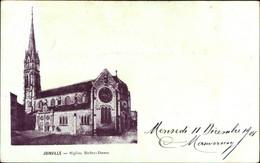 CPA Joinville Haute Marne, Église Notre Dame, Ansicht Der Kirche - Otros Municipios