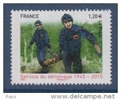 2015-N°4927** SERVICE DE DEMINAGE - Unused Stamps