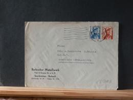 65/501B  LETTRE SAARPOST   1949 - Covers & Documents