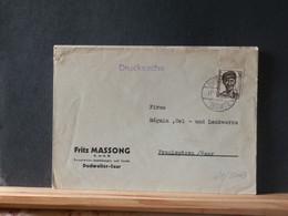 65/504B  LETTRE SAARPOST  1950 - Covers & Documents