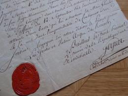 General EMPIRE Napoleon GOGUET (1764-1821) Liège BELGIQUE Chasseurs Tirailleurs LANDRICIES. AUTOGRAPHE - Autografi