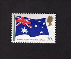 1127397391 1970 SCOTT 475 (XX)  POSTFRIS MINT NEVER HINGED POSTFRISCH EINWANDFREI - AUSTRALIAN FLAG - Unclassified