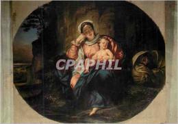 CPM Avignon (Vaucluse) Metropole Notre Dame Des Doms Le Repos De La Sainte Famille Peinture D'Eugene - Avignon