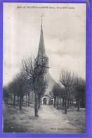 Carte Postale 27. Tillières-sur-Avre  L'église  Très Beau Plan - Tillières-sur-Avre