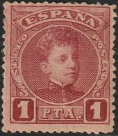 1901. * Edifil: 253. ALFONSO XIII-CADETE - Ongebruikt