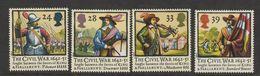 Engeland  1992  Mi.nr. 1405-1408  SG.nr. 1620-1623  MNH  The Civel War - Nuevos