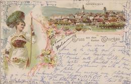 Gruss Aus Thurgau 1905 Kunzli Costume - Unclassified