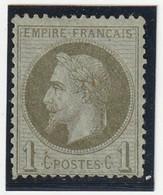 Frankreich 1870 Michel Nr. 24 *, Yvert 25 *, Ungebraucht Mit Teil-Originalgummi, Napoleon III Lauré, Gomme Partielle - 1863-1870 Napoléon III. Laure