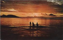 TAHITI - Coucher Soleil Papeete - Tahiti