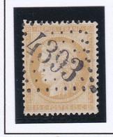 GC 4393 RIEUCROS ( Dept 8 ) S / N° 59 Indice Baudot S / L : 12 Soit 90€ - 1849-1876: Periodo Classico