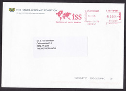 Netherlands: Cover, 2005, Meter Cancel, ISS Institute Of Social Studies, World Map, Research Institute (traces Of Use) - Covers & Documents