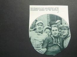 """Origineel Knipsel ( 8942 ) Uit Tijdschrift """"  De Stad """"  1934 :  Wielerkoers  Renner  Coureur   Hoogstraten - Non Classificati"""