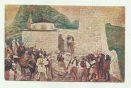 IV GUERRA PER L'INDIPENDENZA ITALIANA EDIZIONE CROCE ROSSA - GLI ALBANESI UBBIDISCONO AL DISARMO  DI T.CASCELLA - NV FP - Sin Clasificación