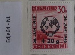 Oostenrijk 1946 Dag Van De Liga Der Verenigde Naties - 1945-60 Neufs