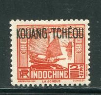 KOUANG TCHEOU- Y&T N°99- Neuf Avec Charnière * - Ungebraucht