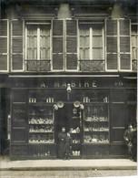 PARIS IX- PHOTO- BELLE DEVANTURE DU MAGASIN DE FAIENCES- A MABIRE- AU 46 RUE DE PROVENCE- PARIS IX EME - Zonder Classificatie