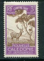 NOUVELLE CALEDONIE- Taxe Y&T N°38- Neuf Sans Gomme - Segnatasse