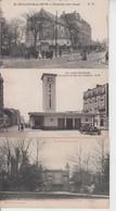 LOT DE 100 CPA TYPE PETITE CARTE  DROUILLE - Pas De Paris, Lourdes, Versailles, Mont St Michel ...  Qqes Ex En Scan  - - 100 - 499 Postkaarten