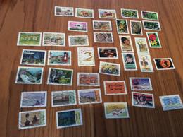 Lot De 38 Timbres Autocollants France Année 2013-2018 - Used Stamps