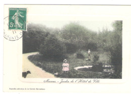 MARANS - Jardin De L' Hôtel De Ville - 1911 - - Otros Municipios