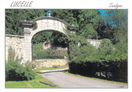 68 - Lucelle - Porte De Porrentruy Donnant Sur La Grotte De Lourdes Et Le Chemin De Croix - Other Municipalities