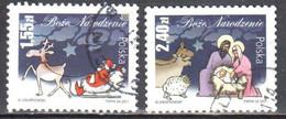 Poland 2011 - Christmas - Mi.4542-43 - Used - Gestempelt - Usados