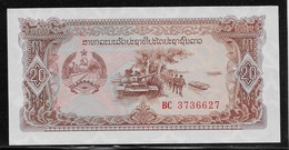 Laos - 20 Kip - Pick N°28 - NEUF - Laos