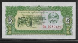 Laos - 5 Kip - Pick N°26 - NEUF - Laos