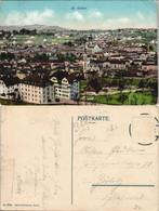 St. Gallen San Gallo / Sogn Gagl / St-Gall Straßenpartie - Stadt 1915 - SG St. Gallen