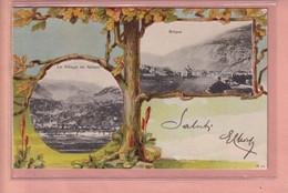 OUDE POSTKAART ZWITSERLAND -  SUISSE -  NATERS EN BRIG  1900'S - VS Valais