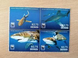 073 WWF Requin Hai Shark 2.75$ - Grenade (1974-...)