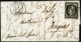 Lettre N°3i 20c Gris S/lettre, Qualité Standard Signé Calves - B - 1849-1850 Ceres