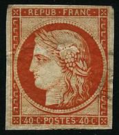 * N°5 40c Orange - TB - 1849-1850 Ceres