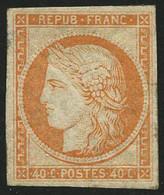 ** N°5g 40c Orange Réimp - TB - 1849-1850 Ceres