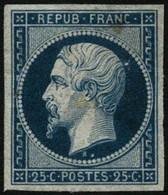 * N°10 25c Bleu, RARE - TB - 1852 Luis-Napoléon