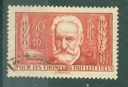 FRANCE - N° 332 Oblitéré - Au Profit Des Chômeurs Intellectuels - Victor Hugo (1802-1885). - Gebraucht