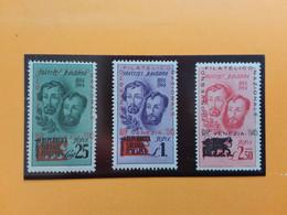 LUOGOTENENZA - Convegno Filatelico Venezia 1945 - Nn. 1/3 Nuovi * + Spese Postali - Mint/hinged